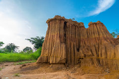 土壤渗透或Lalu 库存图片