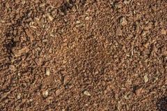 土壤简单的纹理背景 免版税库存图片