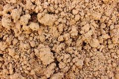 土壤纹理背景 免版税库存照片