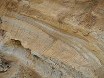 土壤结构 免版税库存照片
