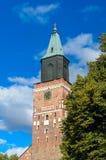土尔库大教堂,芬兰 免版税图库摄影