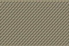 黏土屋顶纹理 免版税库存照片