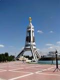 土库曼斯坦-阿什伽巴特纪念碑和大厦  免版税图库摄影