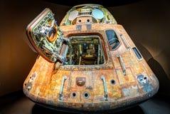 土星5火箭的胶囊 免版税库存图片