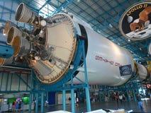 土星V型发动机喷管 免版税图库摄影
