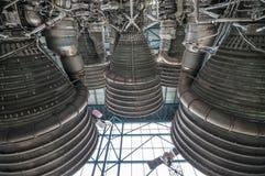 土星V型发动机 库存照片