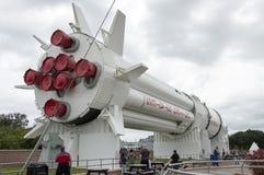 土星v火箭 免版税库存图片