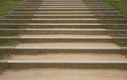 土楼梯 图库摄影