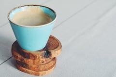 土气咖啡 免版税库存照片