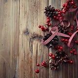 土气圣诞节 免版税图库摄影