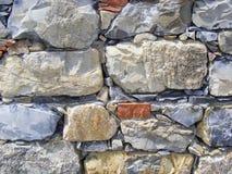 土气墙壁 免版税库存照片