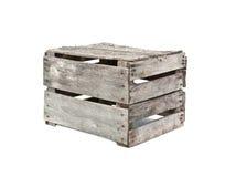 土气木条板箱 免版税库存照片