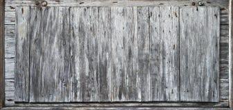 土气木背景横幅 免版税库存照片