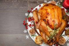 土气样式圣诞节土耳其 免版税库存照片