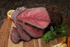 土气样式烤牛肉 库存图片