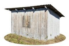 土气样式老棚子 免版税库存图片