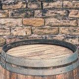 土气桶上面 免版税库存图片