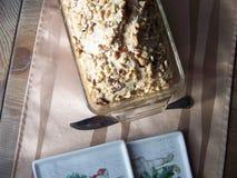 土气燕麦日期坚果大面包 库存图片