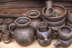 土气瓦器手工 陶瓷 免版税图库摄影