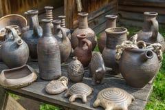 土气瓦器手工 陶瓷 库存图片