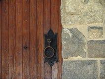 土气的门 库存照片