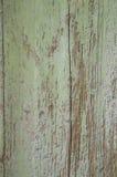 土气葡萄酒绿色被绘的谷仓木头墙壁 免版税图库摄影