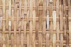 土气被编织的纹理照片 柳条木背景 藤条被编织的顶视图 图库摄影