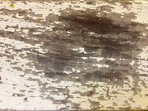 土气被绘的木纹理背景 免版税库存图片