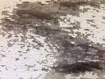 土气被绘的木纹理背景 免版税库存照片