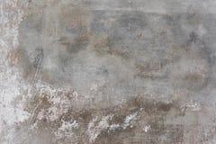 土气scrtached混凝土墙纹理背景 免版税库存照片