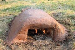 黏土烤箱 库存图片