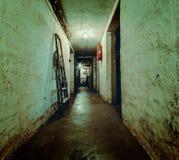 土牢,一间黑暗的地下室 免版税库存图片