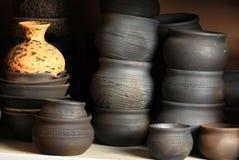黏土瓦器陶瓷 免版税库存图片