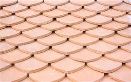 黏土瓦屋顶 图库摄影