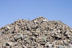 土瓦砾 库存图片