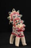 从黏土的色的玩具 免版税库存图片