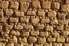 黏土砖墙 免版税图库摄影