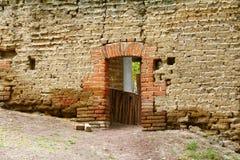 黏土砖房子我 免版税库存照片