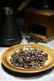 土耳其人咖啡 免版税库存图片