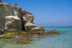 土耳其人的海湾,意大利 图库摄影