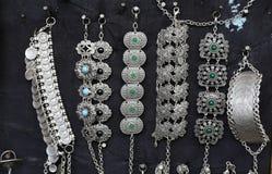 土耳其传统珠宝 库存图片