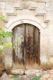 土耳其传统议院的木门 库存图片