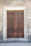 土耳其传统门建筑学 免版税库存照片