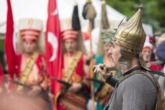 土耳其兵 免版税库存图片