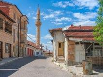 土耳其典型的街道 库存图片