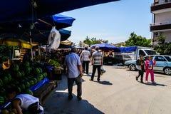 土耳其区义卖市场 库存图片