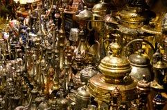 土耳其古铜色对象 免版税库存图片