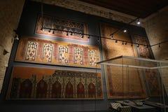 土耳其和伊斯兰教的美术馆在伊斯坦布尔 免版税库存图片