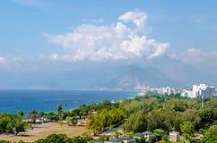 土耳其地中海海岸 库存图片