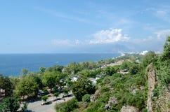 土耳其地中海海岸 库存照片